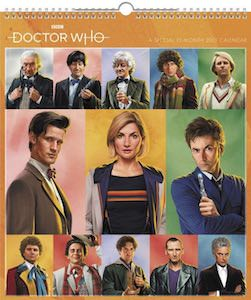 2021 Special Edition Doctor Who Wall Calendar