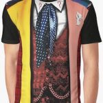 Doctor Who Costume Of The 6th Doctor T-Shirt
