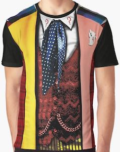 Costume Of The 6th Doctor T-Shirt