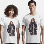 Doctor Who Amy Pond With Scarf T-Shirt