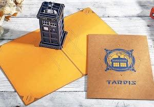 Tardis Pop Up Card
