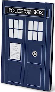 Tardis Door Notebook