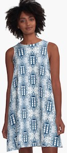 Women's A-Line Tardis Dress