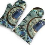 Doctor Who Tardis Oven Mitts