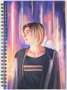 13th Doctor Portrait Notebook