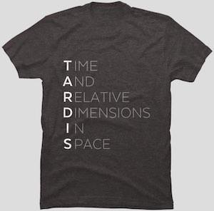 Tardis Meaning T-Shirt