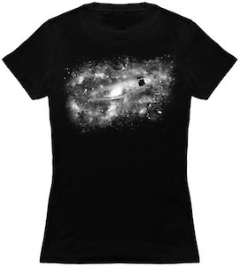 Doctor Who The Tardis In Space T-Shirt