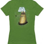 Doctor Who Logo and a Dalek t-shirt