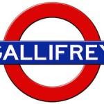 Doctor Who Gallifrey Subway Logo Poster