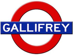 Gallifrey Subway Poster