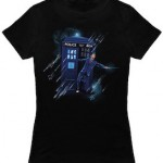 Dr Who 10th Doctor Singing In The Stars T-Shirt