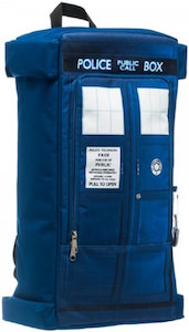 Doctor Who Tardis Shaped Backpack