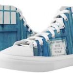 Doctor Who ZIPZ High Top Tardis Sneakers