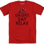 Doctor Who Daleks Say Relax T-Shirt