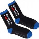 I Heart Heart The Doctor Socks