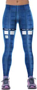 Dr. Who Tardis Panels Leggings