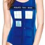 Doctor Who Women's Tardis Bathing Suit