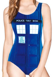 Women's Tardis Bathing Suit