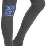 Doctor Who Wibbly Wobbly Timey Wimey Tardis women's Socks