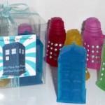 Tardis And Dalek Soap 4 Piece Set