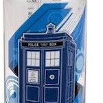 Doctor Who Tardis Water Bottle That Holds 32 Ounce Of Water
