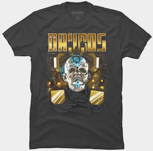 Davros Portrait T-Shirt