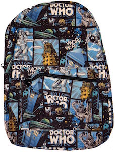 Doctor Who Comic Style Backpack