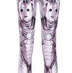 Doctor Who Cybermen Leggings