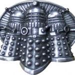 Dr. who Pewter Dalek Belt Buckle