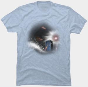 Tardis Ongoing Storm T-Shirt