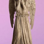 Dr. Who Weeping Angel Giant Wall Decal