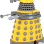 Dr. Who Yellow Dalek Wind Up Toy