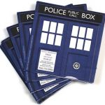 Doctor Who Tardis Paper Napkins for sale