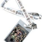 Doctor Who Lanyard With ID Pouch And Tardis Charm