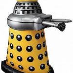 Doctor Who Yellow Inflatable Dalek
