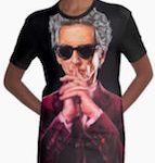 Doctor Who 12th Doctor T-Shirt Dress