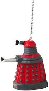 Red Dalek Ceiling Fan Pull