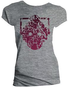 Women's Grey Cybermen T-Shirt
