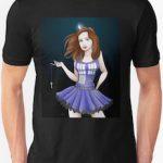 Doctor Who Female Tardis The Looks Like Amy T-Shirt