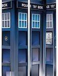 Doctor Who Tardis Photo Socks