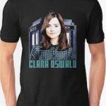 Dr. WHo Clara Oswald Portrait T-Shirt