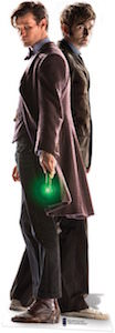 Doctor Who Doctor Who 10th And 11th Doctor Life-size Cardboard Cutout Poster