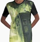 Doctor Who Tardis In A Swamp T-Shirt Dress
