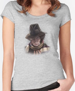 The 4th Doctor Portrait T-Shirt