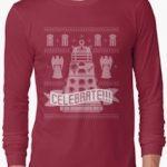 Dalek Celebrate Christmas Sweater