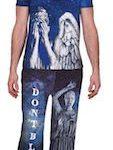 Doctor Who Weeping Angel Pajama Set