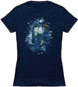 Sparkels The Tardis And Bad Wolf T-Shirt