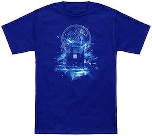 Doctor Who Tardis Time Storm T-Shirt