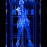 Doctor Who Crystal Tardis Light With The 12th Doctor Inside