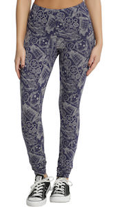 Doctor Who Character Sketch Leggings